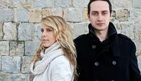 Kevin Koradin in Anika Horvat (foto: Rok Dolničar)
