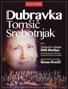Dubravka Tomšič Srebotnjak in Simfonični orkester SNG Maribor @ Avditorij Portorož | Piran | Slovenia