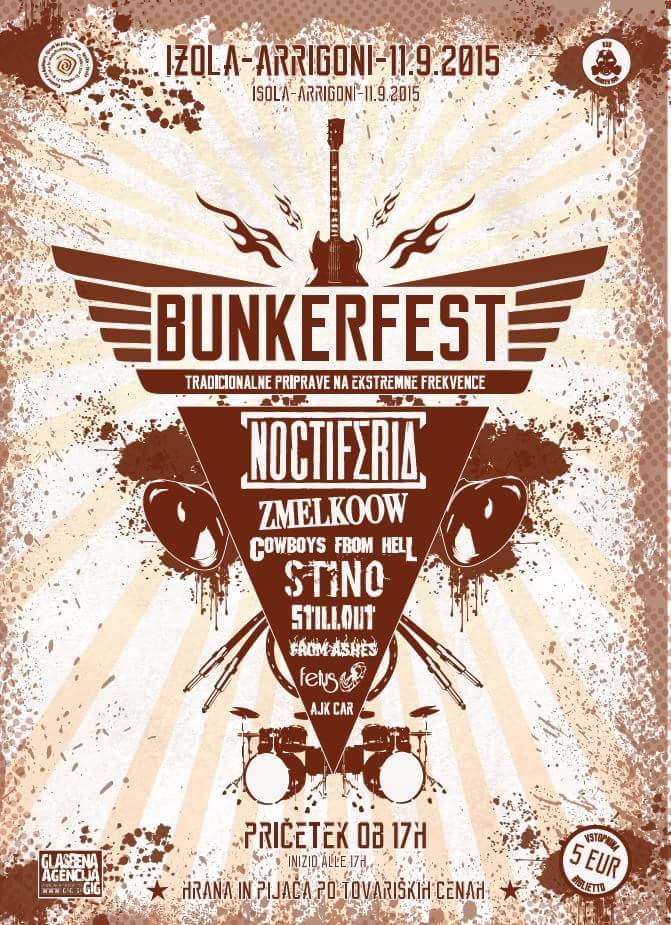 Prihaja BunkerFest 2015