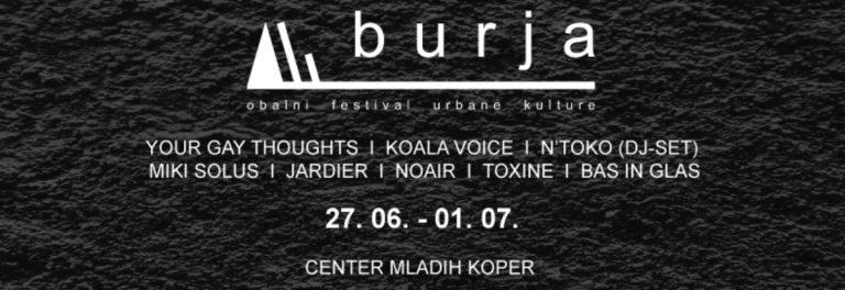 Festival Burja – Obalni festival urbane kulture