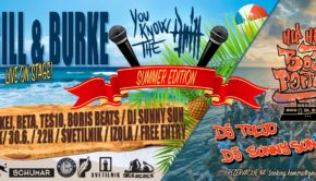 DRILL & BURKE + HIP HOP BOAT PARTY