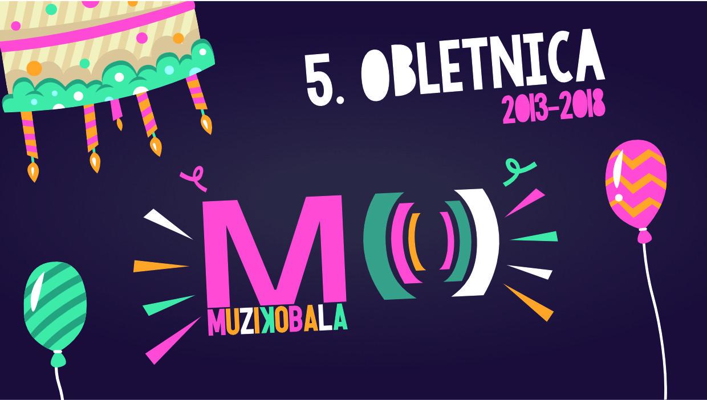 Muzikobala praznuje 5. obletnico