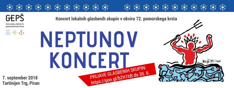 Natečaj za nastop na Neptunovem koncertu