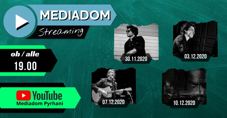 Mediadom Streaming 3.0 – tretji sklop, ki bo ponovno pospremil sprostitev ukrepov za prireditve!
